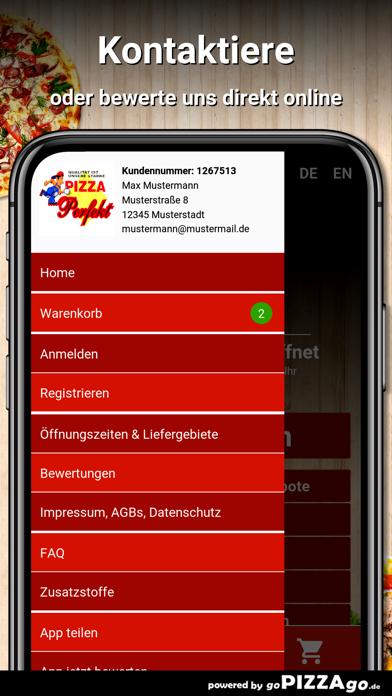 Pizza Perfekt Holzgerlingen screenshot 3