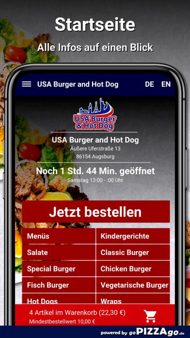 USA Burger Augsburg screenshot 2