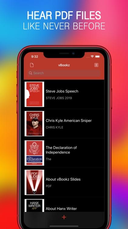 vBookz PDF Voice Reader