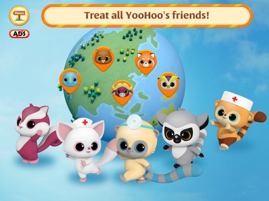 Ipad Screen Shot YooHoo & Friends: Doctor Games 5