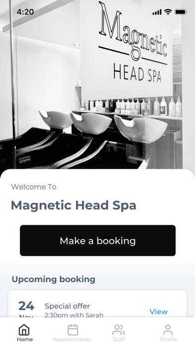 Magnetic Head Spa screenshot #1