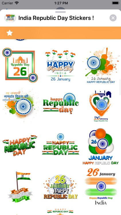 India Republic Day Stickers ! screenshot-6