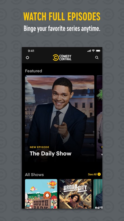 Comedy Central screenshot-0