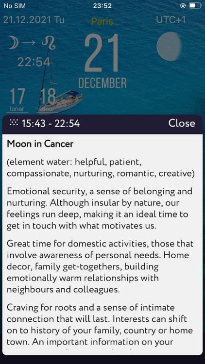 Sky Calendar 2021 screenshot-9