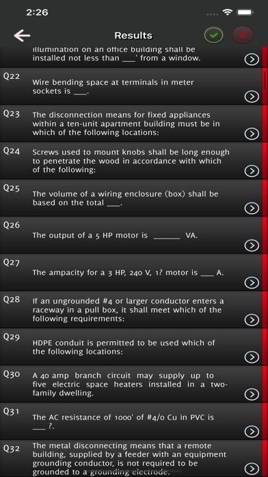 Journeyman Electrician Exam - screenshot 5