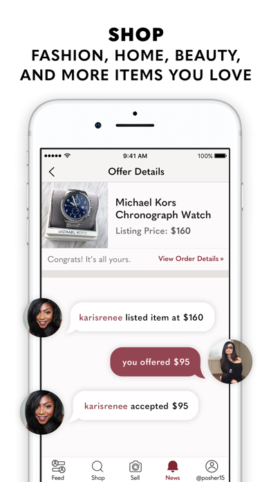 messages.download Poshmark: Buy & Sell Fashion software