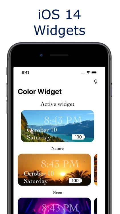 Widget - Color Widget