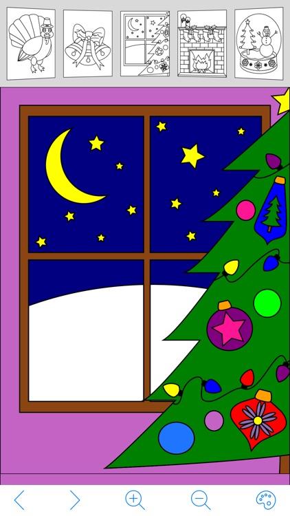 My Holiday Coloring Book screenshot-3
