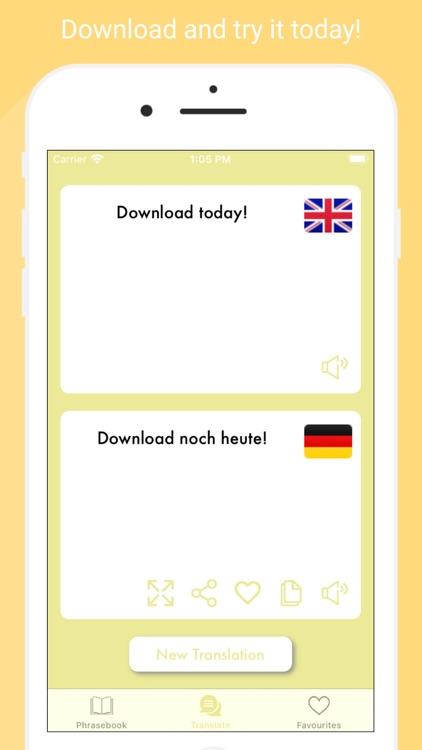 HelloHallo - German translator