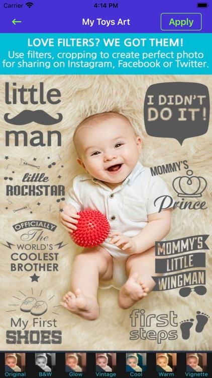 Baby Born Photo & Video Editor screenshot-3