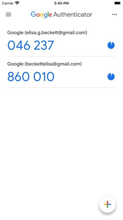 Google Authenticator screenshot-4