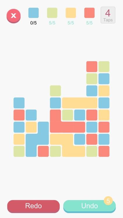 Blocks And Taps - Brain puzzle screenshot-5