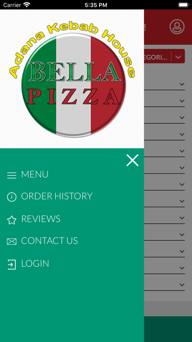 BELLA PIZZA MILDENHALL screenshot 9