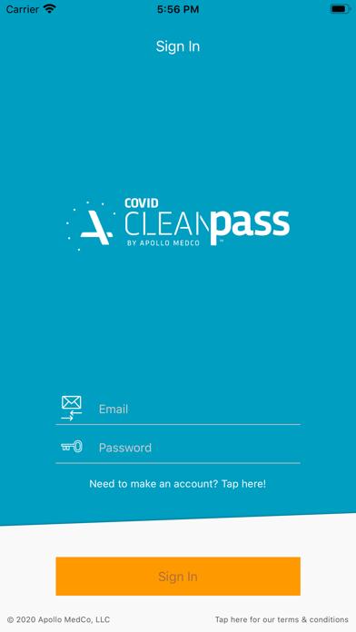 Apollo CleanPass Screenshot