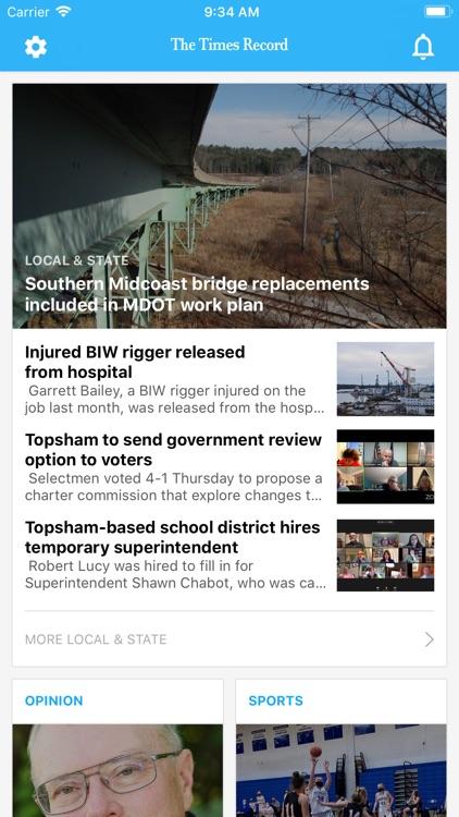 Times Record Headlines