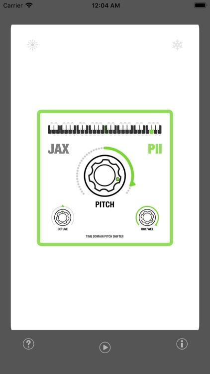 JAX P2 - Pitch Shifter II