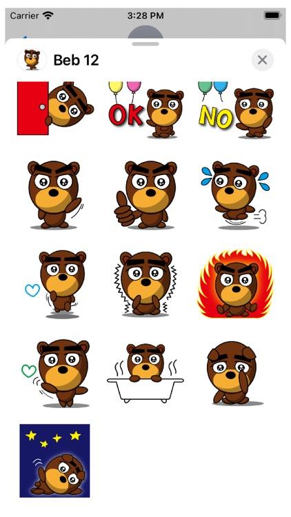 Beb 12 Stickers screenshot-3
