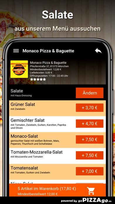 Monaco Pizza München screenshot 5