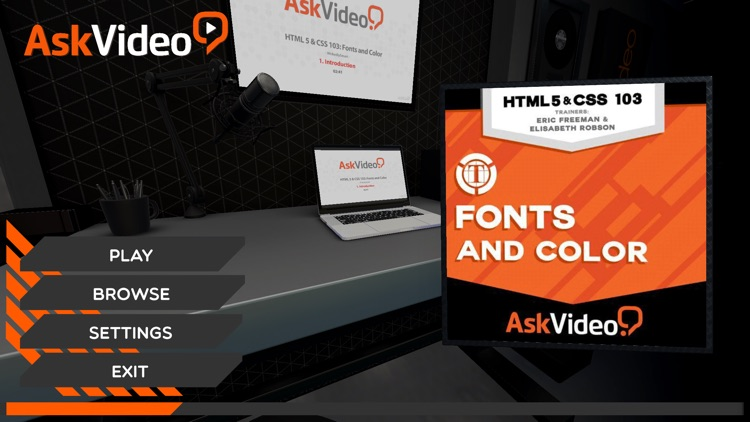 Fonts Course for HTML5 and CSS screenshot-0
