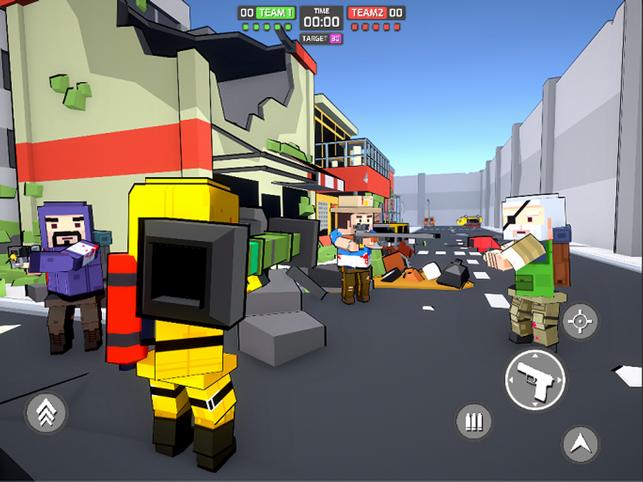 Blocky Gun TPS Online, game for IOS