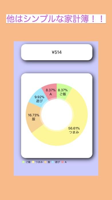 写真de家計簿 screenshot 2