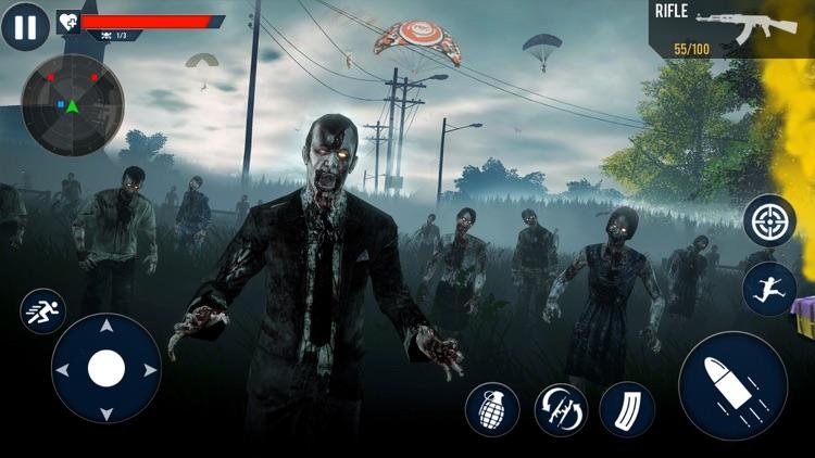 Modern Zombie Shooter 3D screenshot-4