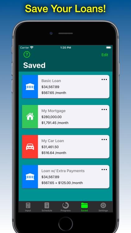 Loan Calculator - Loan2Me screenshot-3