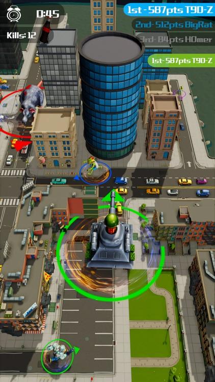 Zombie.io Monster Battle City