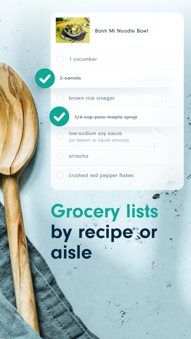Forks Meal Planner Screenshot