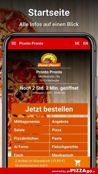 Pronto Pronto Karlsruhe screenshot 3