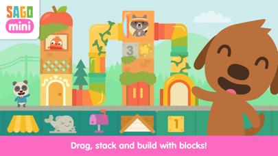 Sago Mini Neighborhood Blocks screenshot 1
