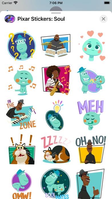 Pixar Stickers: Soul screenshot 5
