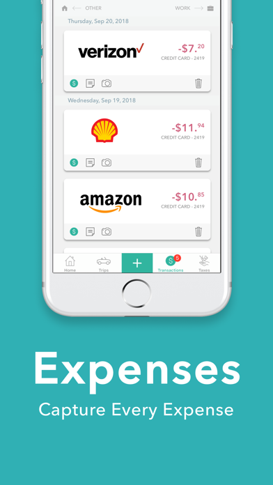 Everlance: Mileage & Expense Screenshot