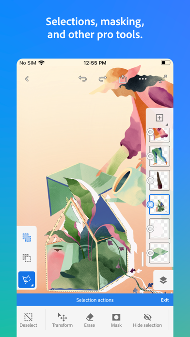 Adobe Fresco: Draw & Paint screenshot 4