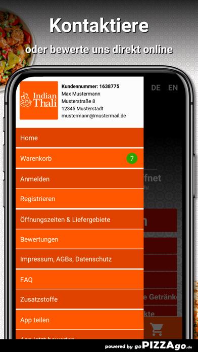 Indian Thali Stuttgart screenshot 3