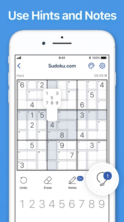 Killer Sudoku by Sudoku.com screenshot-5