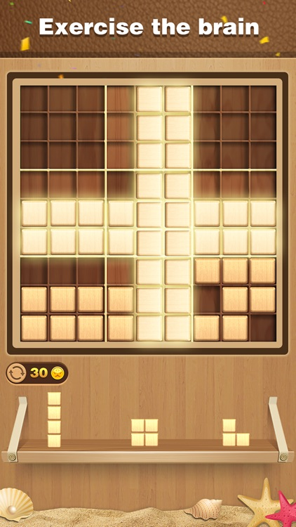 Wood Block Sudoku Puzzle screenshot-4