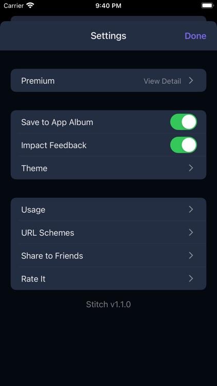 iStitch-Make a long screenshot
