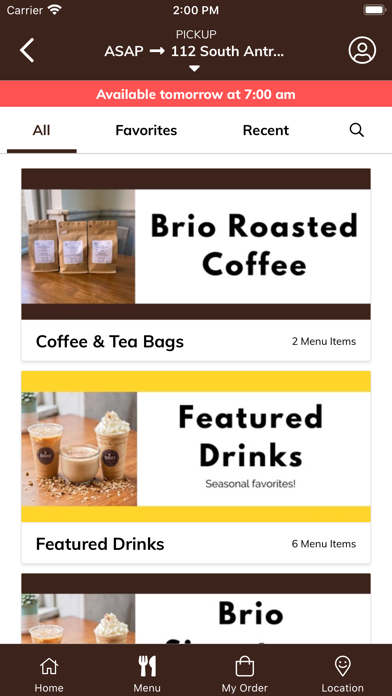 Brio CoffeehouseScreenshot of 3