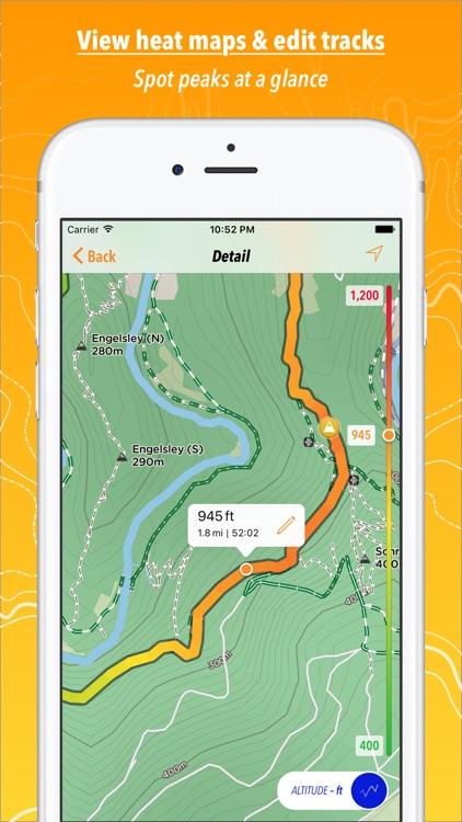 Trails · Outdoor GPS Logbook screenshot-3