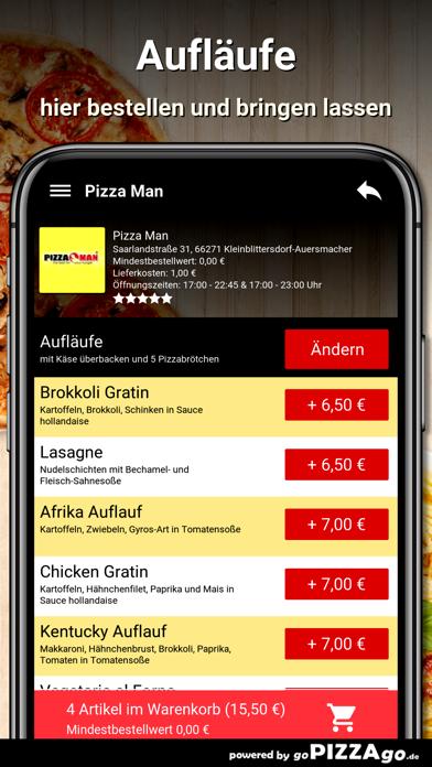 Pizza Man Kleinblittersdorf screenshot 6