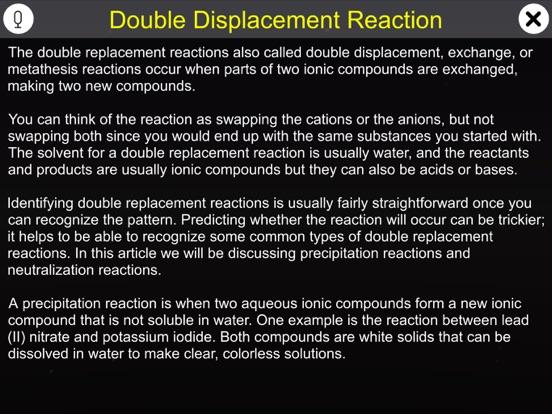 Double Displacement Reaction screenshot 9
