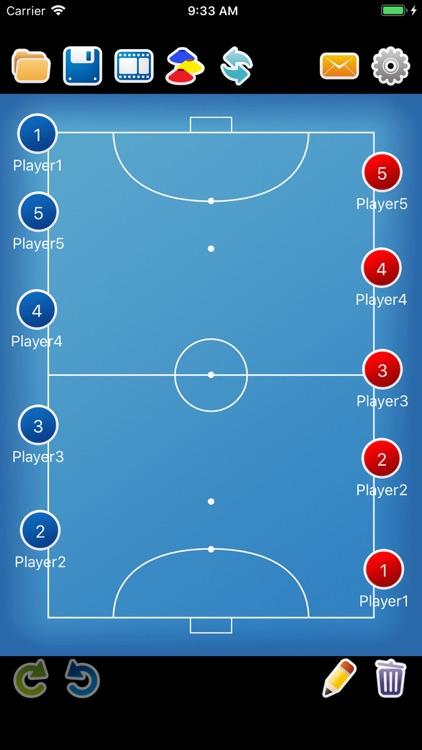 Coach tactic board Futsal screenshot-3