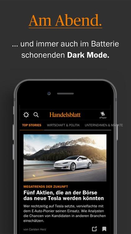 Handelsblatt - Nachrichten screenshot-5