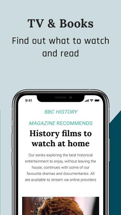 BBC History Magazine Screenshot