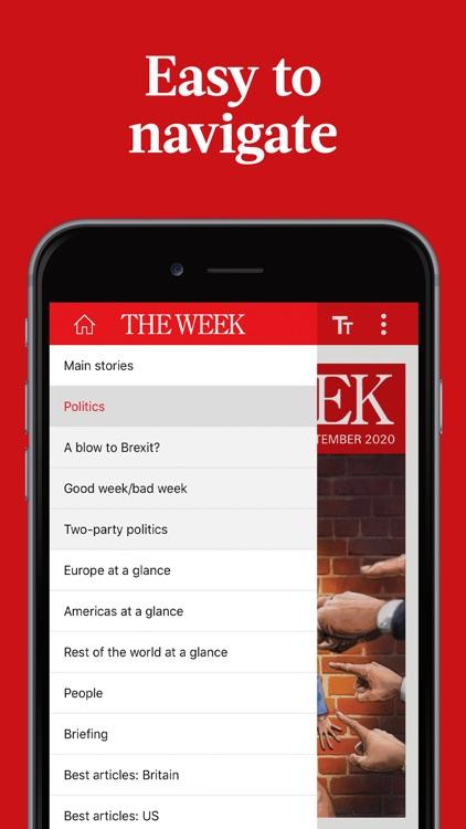 The Week magazine UK edition