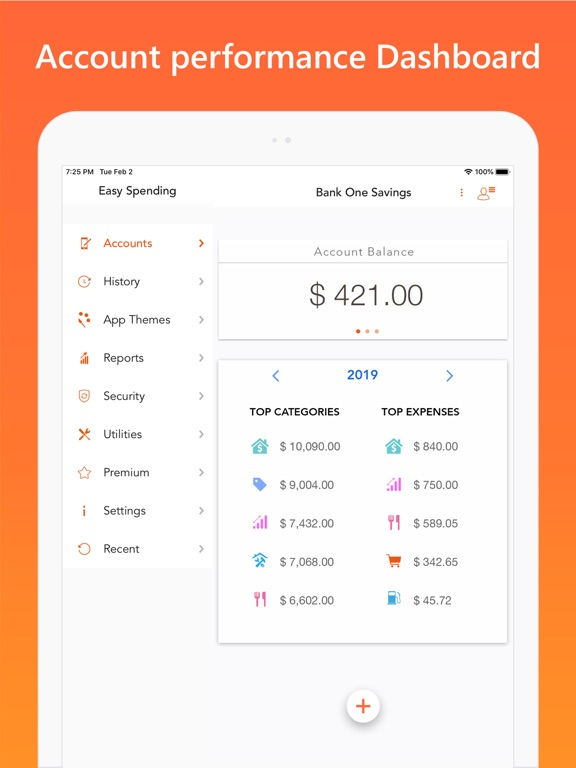 Screenshot #6 pour Easy Spending Budget