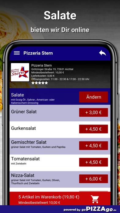 Pizzeria Stern Aichtal screenshot 5