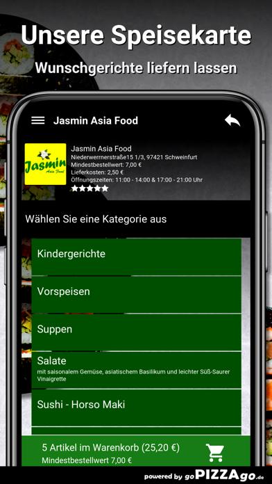 Jasmin Asia Food Schweinfurt screenshot 4
