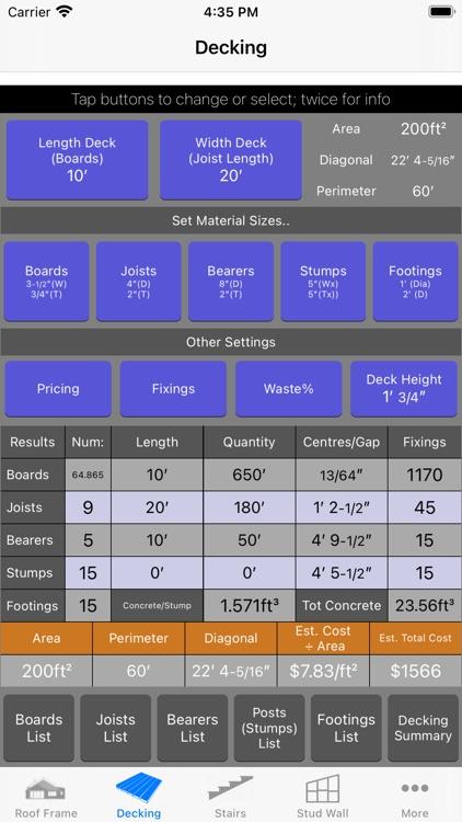 Roof Guide - Carpentry Calc screenshot-7